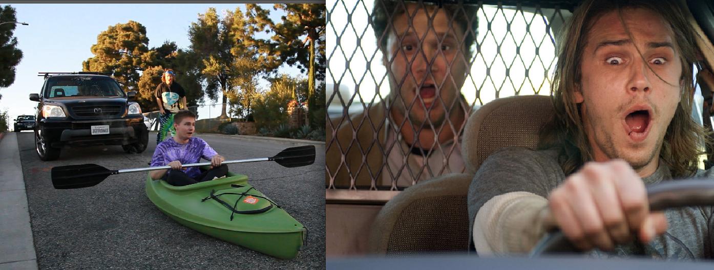 "Doritos ""Crash the Superbowl"" Extreme Car-Kayaking Submission"