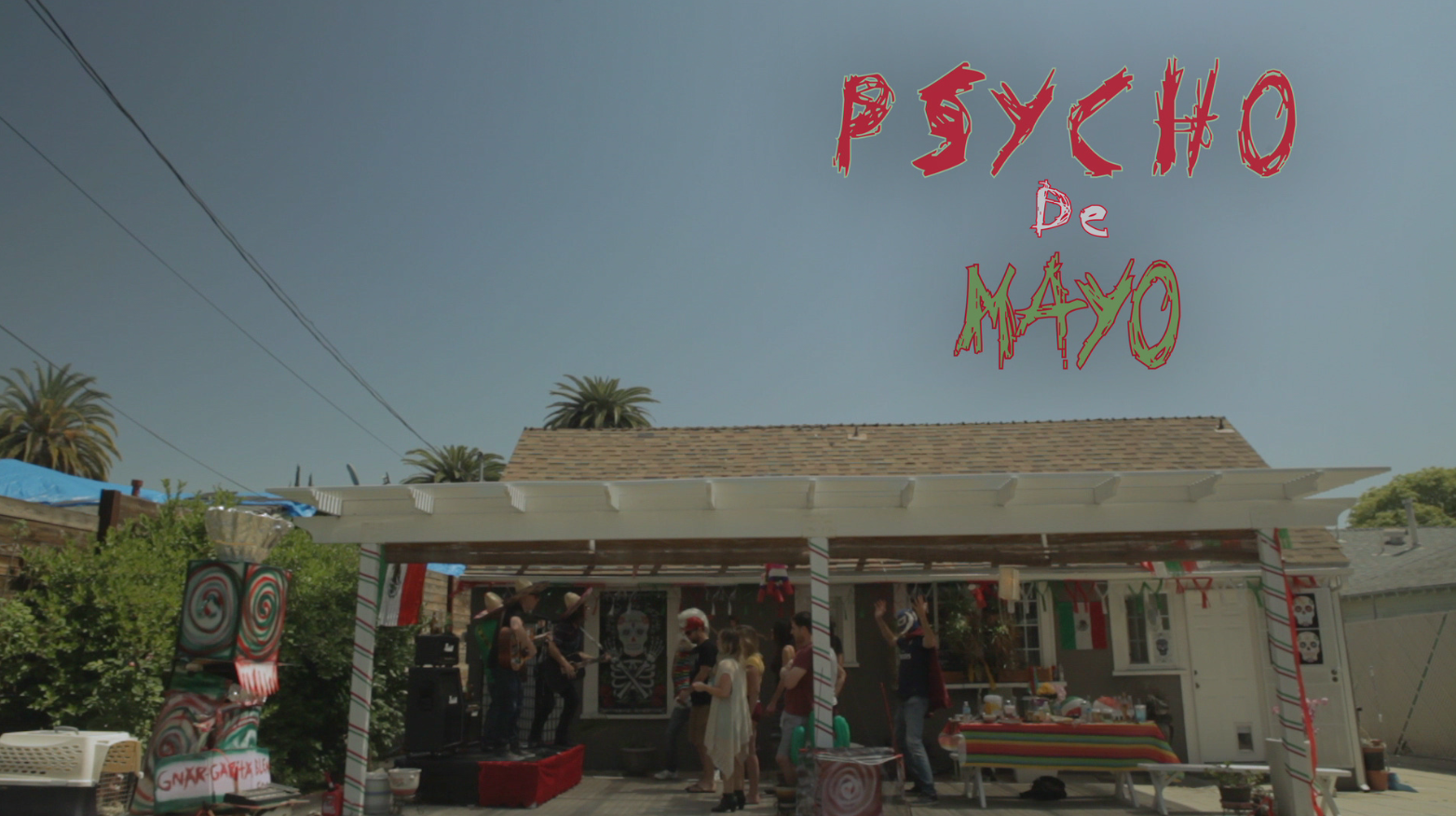 "NEW SHORT FILM ""PSYCHO DE MAYO"""